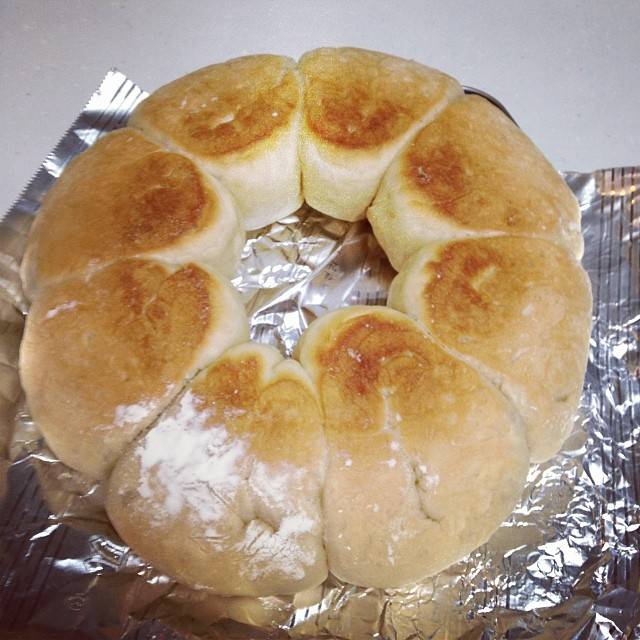 フライパンだけでパンを焼いてみた